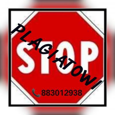 STOP Plagiatowi - Pomoc Przy Pisaniu Prac Studenck